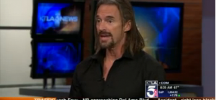 KTLA: Kevin Sites on His New Book 'Swimming With Warlords